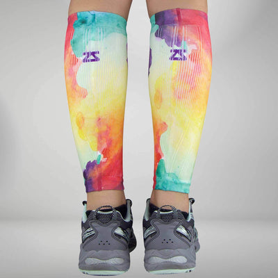 Watercolor Compression Leg Sleeves