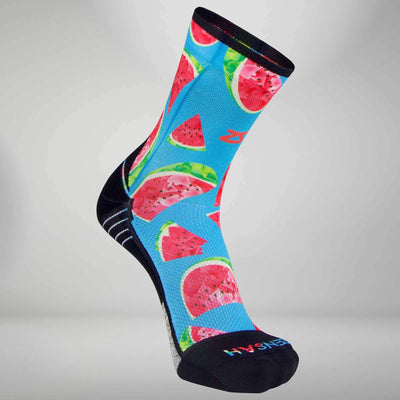 Watermelon Socks (Mini Crew)