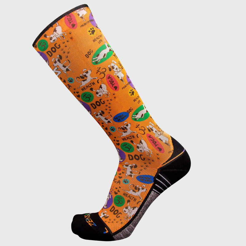 Yoga Dog Compression Socks (Knee-High)