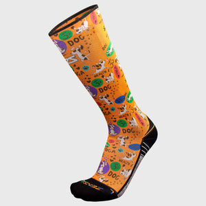 Yoga Dog Compression Socks (Knee-High)Socks - Zensah