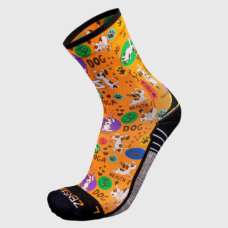 Yoga Dog Socks (Mini-Crew)Socks - Zensah