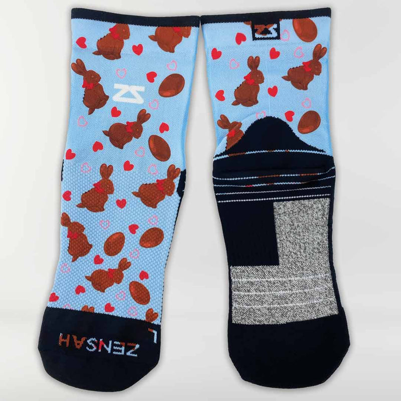 Chocolate Bunnies Socks (Mini-Crew)Socks - Zensah