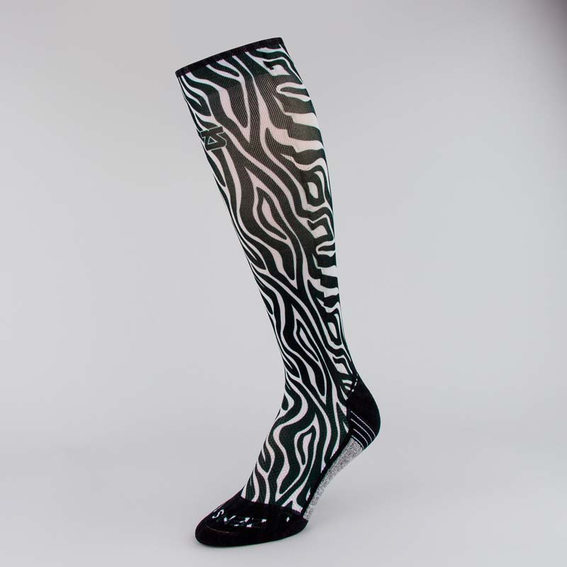 Zebra Compression Socks (Knee-High)