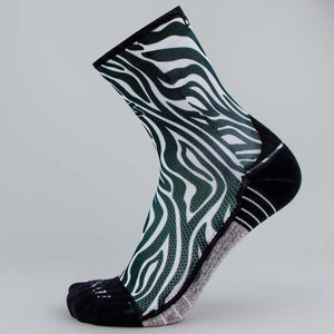 Zebra Socks (Mini-Crew)