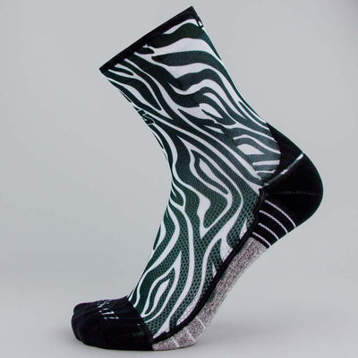 Zebra Socks (Mini-Crew)Socks - Zensah