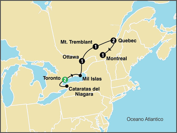 Tours From Boston To Quebec City