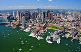 boston aerial view