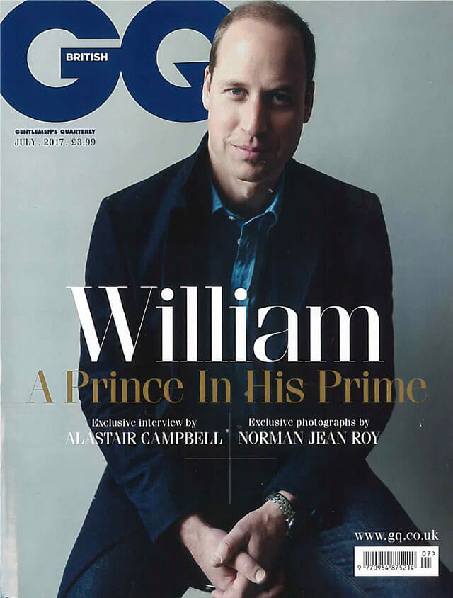 Cover of GQ magazine