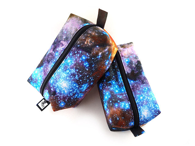 Handmade bags in galaxy star print