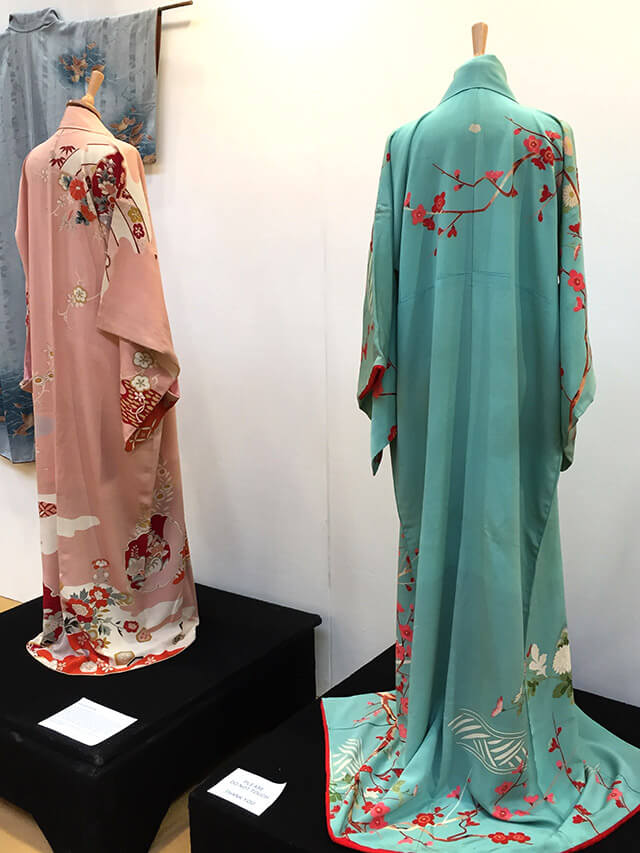 Kimono collection at the NEC sewing show