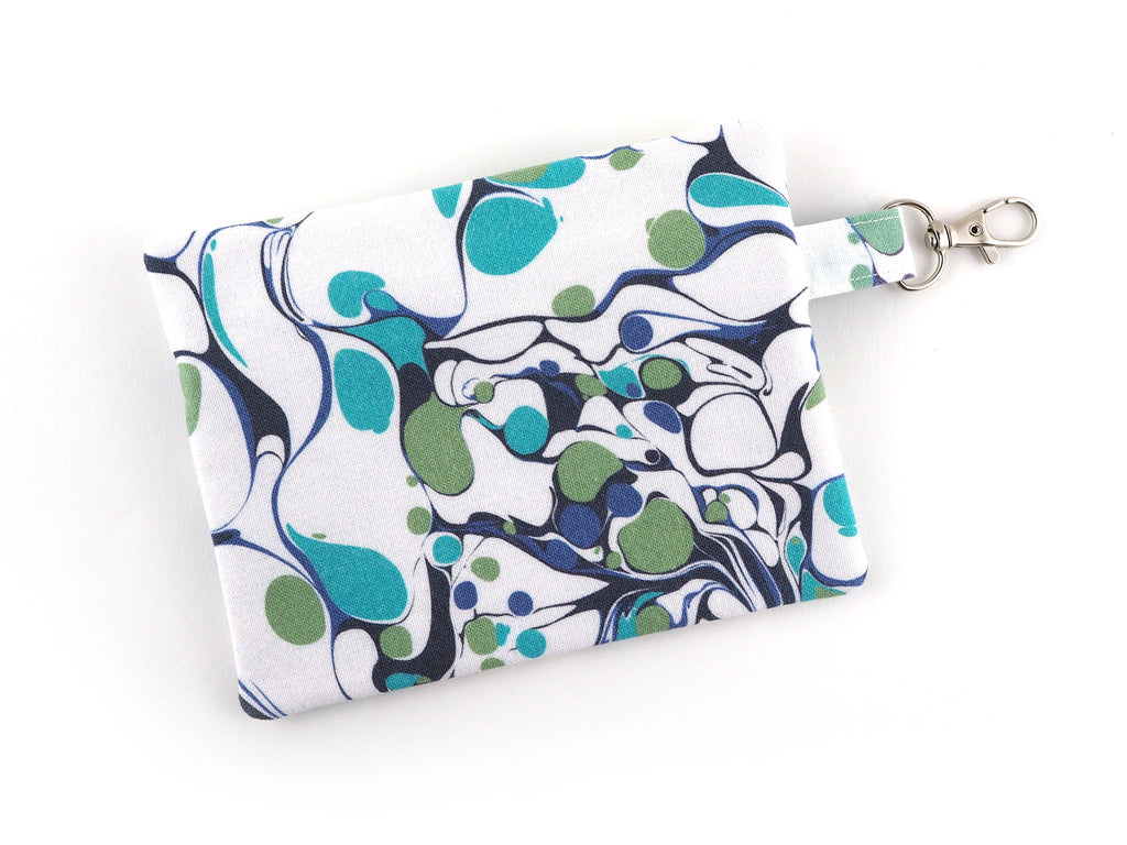 Handmade coin purse with clasp