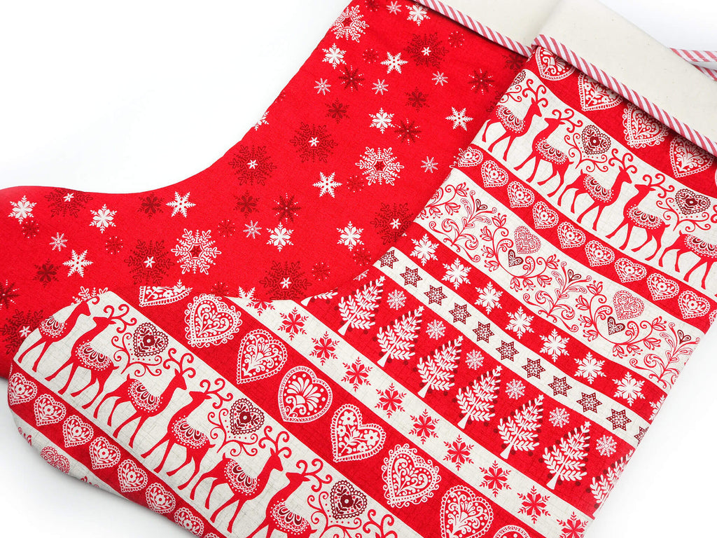 Luxury handmade Christmas stockings