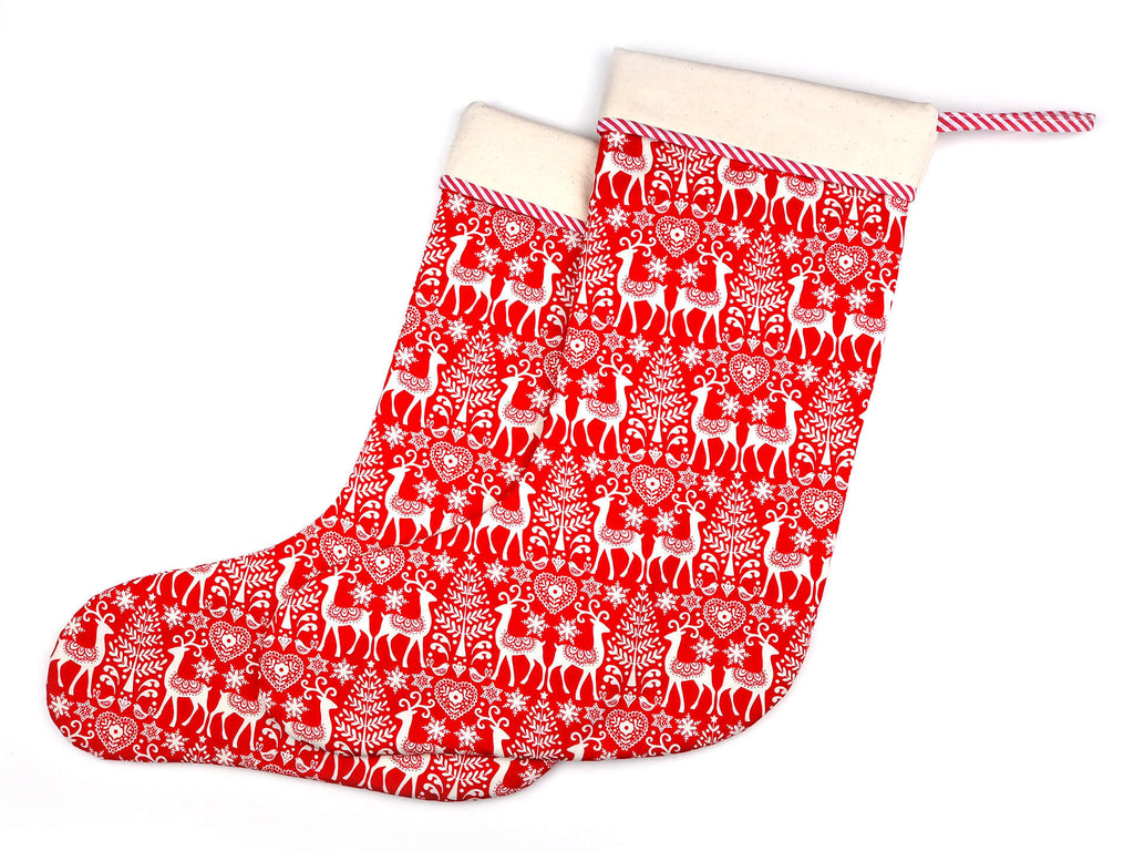 Festive Christmas stockings