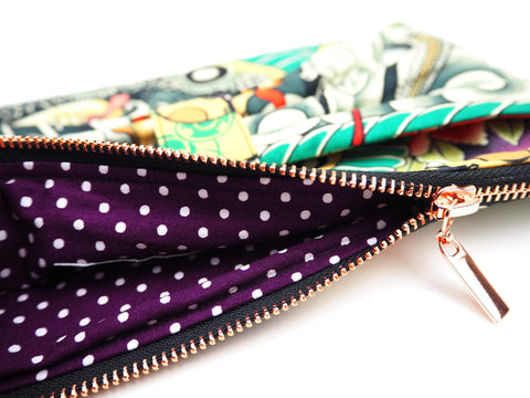Handmade bag in designer fabric