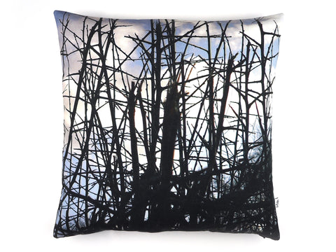 Thorn print cushion
