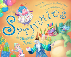 Sprinkles The Birthday Fairy 10X8 Hardcover Book