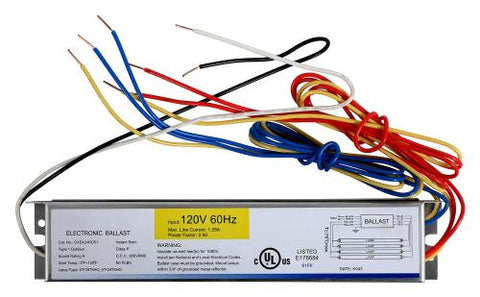 Ballast Replacement T5 HO 4 x 24 Watt - 120 Volt