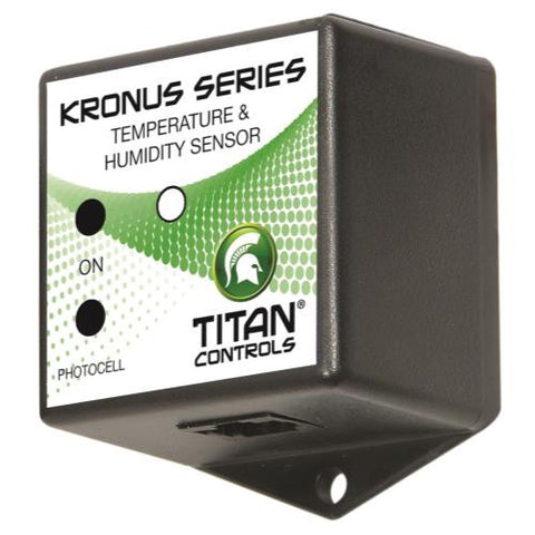 Titan Controls Temperature & Humidity Sensor w/ Photocell