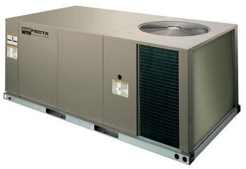 Ideal-Air DriFecta 4 Ton Packaged Commercial R-410A Gas/Electric Air Conditioner, 125 MBH,  208/230V 3Ph 60Hz