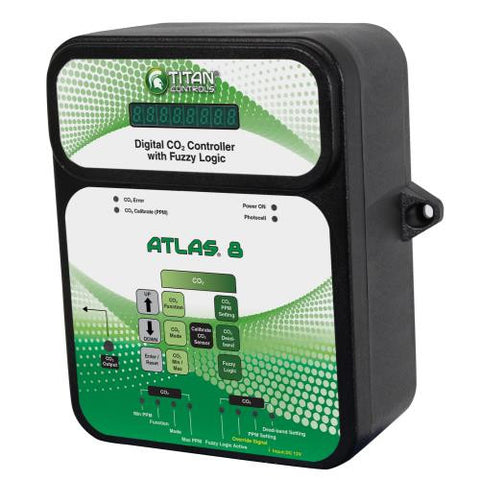 Titan Controls Atlas 8 - Digital CO2 Controller w/ Fuzzy Logic