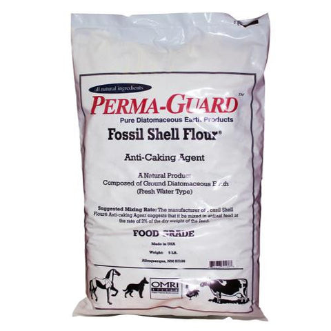 Perma Guard Diatomaceous Earth Fossil Shell Flour Food Grade 5 lb (4/Cs)