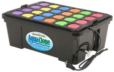 Super Sprouter Aqua Clone 24 Site Deep Water Cloner (6/Cs)