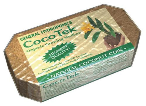 GH Cocotek Natural Coconut Coir Brick (24/Cs)