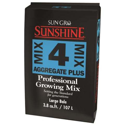 Sunshine Mix # 4 Aggregate Plus Bale 3.8 cu ft (30/Plt)