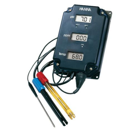 Hanna pH/TDS/Temp Monitor (HI 981504/7)