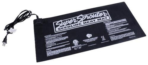 Super Sprouter Seedling Heat Mat 10 in x 21 in (10/Cs)