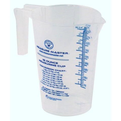 Measure Master Graduated Round Container 16 oz / 500 ml (40/Cs)