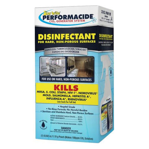 Star Brite Performacide Disinfectant 32 oz Spray Kit (4/Cs)