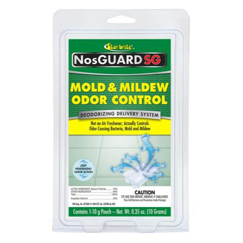 Star Brite NosGuard SG Mold & Mildew Odor Control 10 gm / .35 oz (6/Cs)