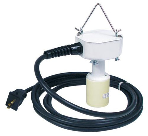 Socket Assembly w/ 15 ft Lamp Cord - 16 Gauge