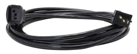 Lamp Cord 15 ft - 16 Gauge Replacement 2 Point Detachable (25/Cs)