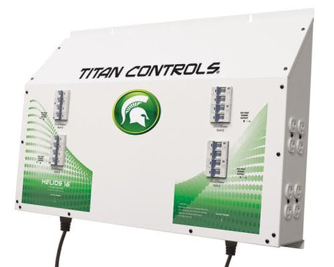 Titan Controls Helios 16 - 16 Light 240 Volt Controller w/ Dual Trigger Cords Seconds