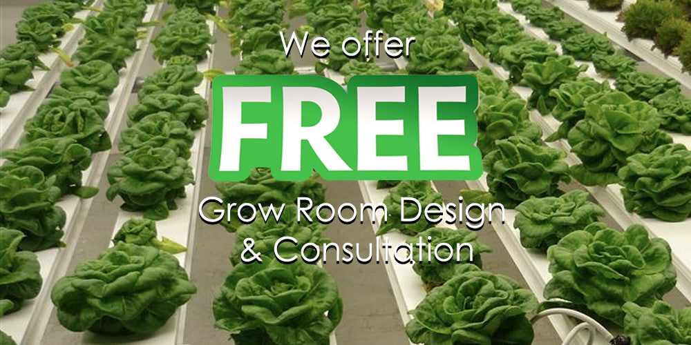 Free Grow Room Design Consultation