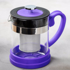 Color Glass Infuser Tea