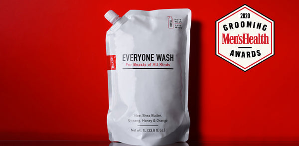 Everyone Wash Wins Men's Health Grooming Award