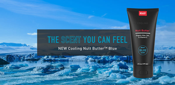 New Cooling Nutt Butter with Beast Blue Scent
