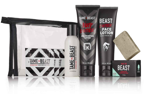TAME THE BEAST BBC Travel + Starter Sets MEN'S GROOMING PRODUCTS ESSENTIALS