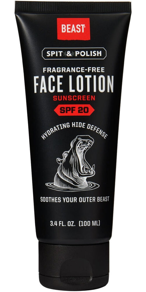 Duluth x Beast Face Lotion