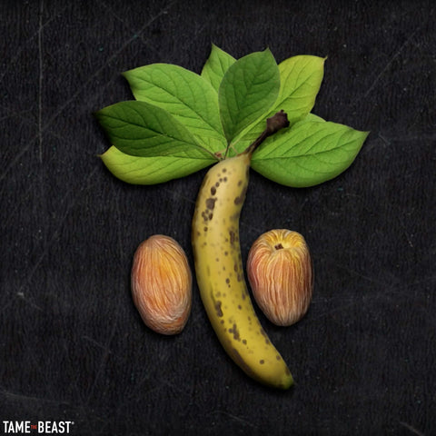 Banana and Peaches for Men's Testicles by Tame the Beast
