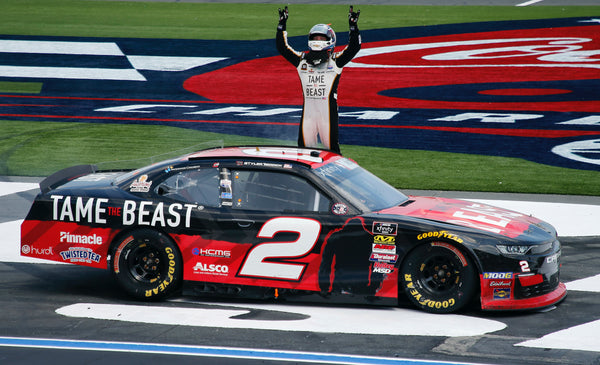yler Reddick drive the Beast Mobile for a win in Charlotte