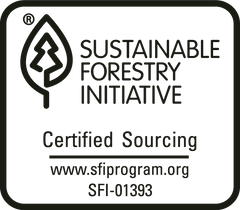 Sustainable Forestry Initiative Certified