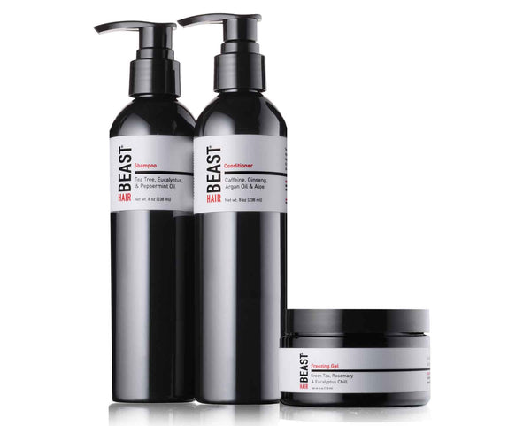 Well Tame Beast Hair Product Essentials Set for Men