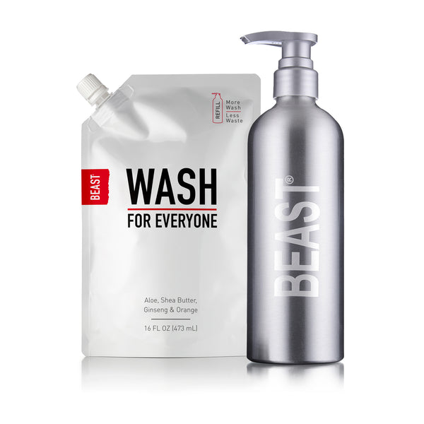 Body Wash for Everyone Refill + Reusable Bottle Set