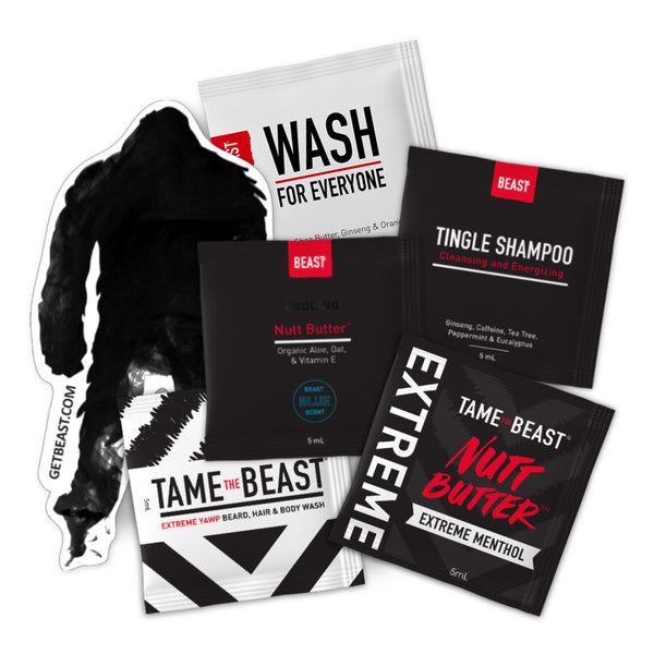 Beast Product Samples Sampler Starter Set