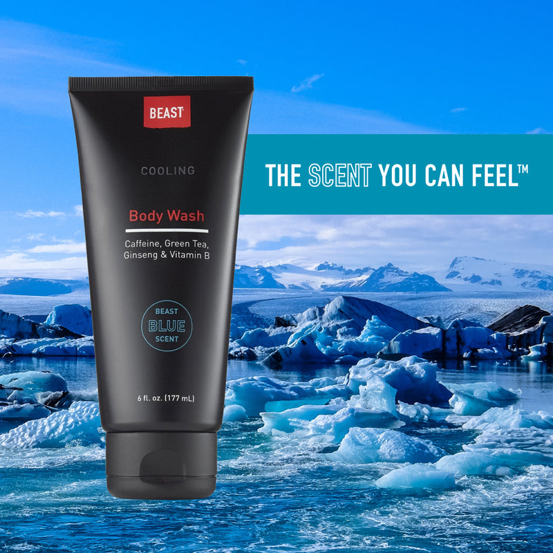 Cooling Body Wash with Beast Blue - The Scent You Can Feel