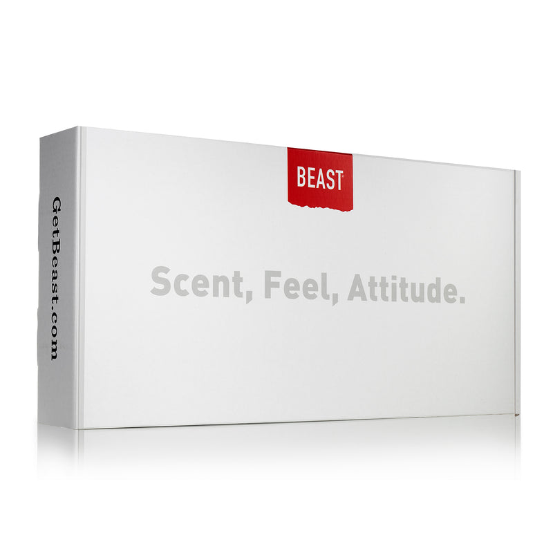 Beast Box for Everyone in White - Mens Womens Gift Sets Beauty and Grooming Products
